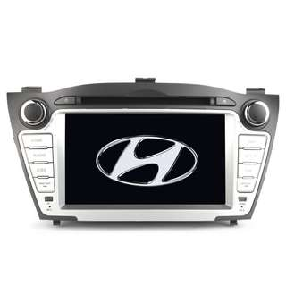 HD Car DVD Player - Hyundai IX35 (2010), 7-Inch Display, GPS Navigation, Bluetooth Support, SD Card Support, FM/AM Radio (CVAIY-C642)