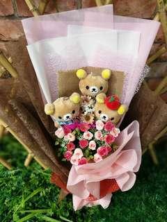 Rilakuma Flower Bouquet