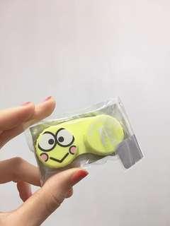 Sanrio 隱形眼鏡盒 kerokeroppi