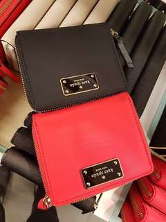 ♠ Kate Spade nylon Darci medium wallet