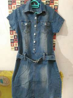 #horegajian denim jeans dress