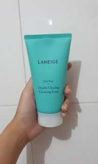 Laneige Mini Pore Double Cleansing Foam
