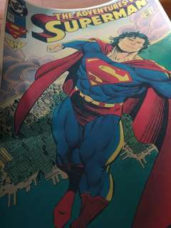 Superman Comic Poster MP03