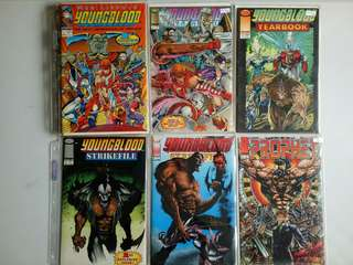 Image Set #7 Comics (Youngblood, Prophet)