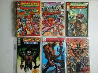 Image Set #7 Comics (Youngblood, Prophet)