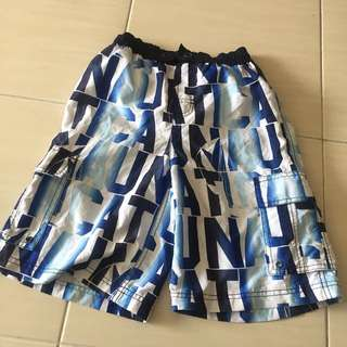 Nautica Spell Out Short Pants Shorts Size m 10-12