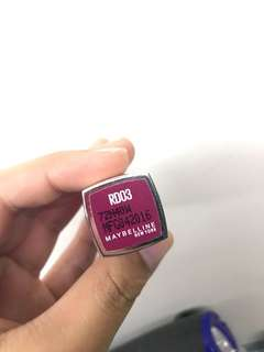 Maybelline bitten lip lipstick by lip flush