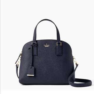 SALE Kate Spade Cameron Street Lottie Satchel Handbag Slingbag Blazer Blue