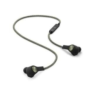 B&O BeoPlay H5 Wireless Earphones, Moss Green With 2 Years Warranty