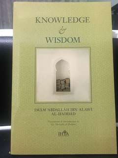 Knowledge & Wisdom by Imam Abdullah alHaddad