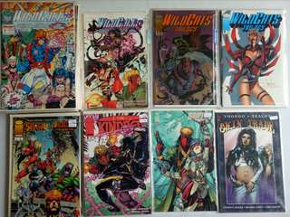 Image Set #10 Comics (WildC.A.T.S)