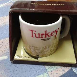 星巴客 Starbucks土耳其城市杯3oz