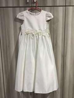White Flower Girl Dress (8 years old)
