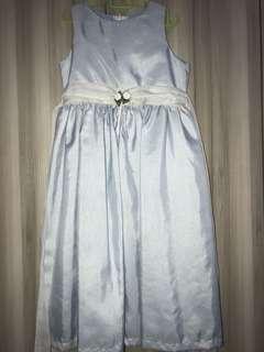 Princess Dress (Baby Blue Organza) 6-7years old