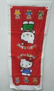 Hello kitty 長巾 (絕版