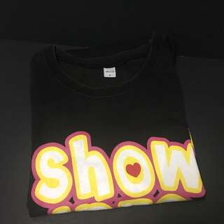 Showlo merchandise SFC member tee 會員限定