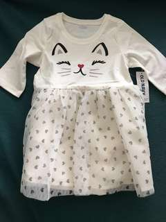Old Navy Kitty Cat Tutu Dress