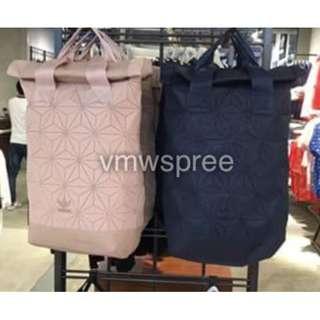 (PREORDER) Adidas issey miyake backpack navy / nude pink