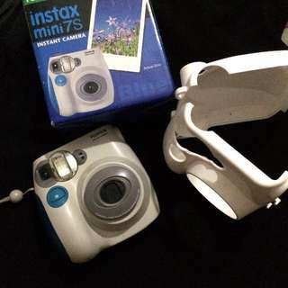 Instax mini 7s (FREE CASE)