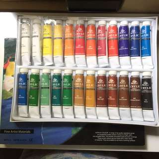 Phoenix Acrylic Colour Set