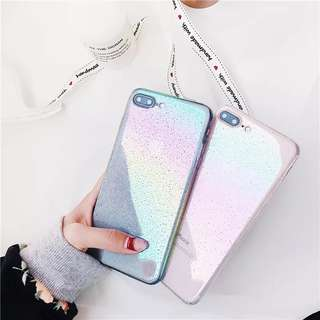 [PO] iPhone 6/7/8/Plus/X Iridescent Droplet Hard Cover