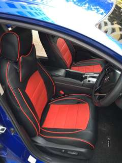 Honda Civic 2017 leather seat cover (customise)
