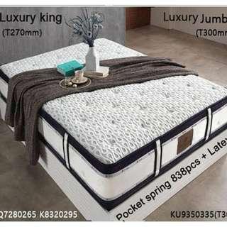 High Quality Luxury Mattress Import from Korea