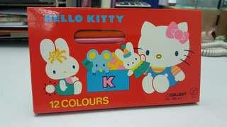 Hello kitty 顏色筆  絕版