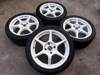 "Sportrim P1 Racing 17"" 4x114"