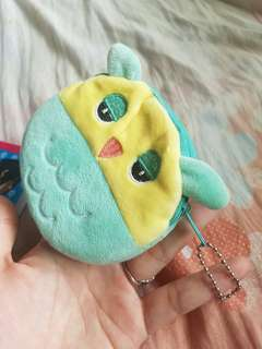 CUTE SLEEPY OWL POUCH