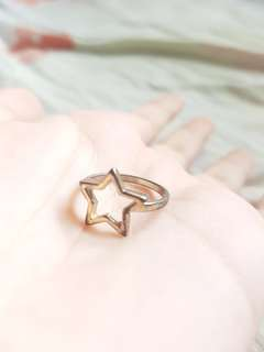 ROSE GOLD COATED RING