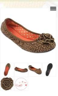 Lindsay Phillips Leopard Ballet Flats Shoes