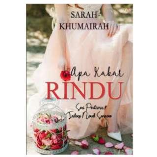 Ebook Apa Kabar Rindu - Sarah Khumairah