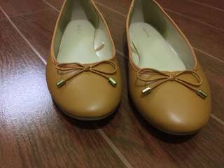 Parfois Mustard Doll shoes