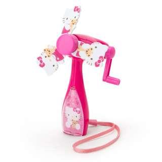 Japan Sanrio Hello Kitty Hand Pulled Mini Fan
