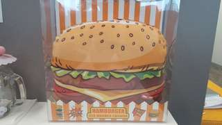 Hamburger USB 暖枕