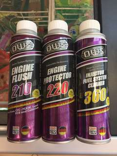 OWS Engine clean, flush & protect system(3in1)