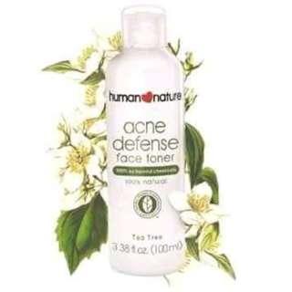 Human Nature Acne Defense Face Toner