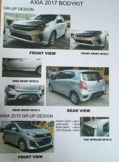 New Perodua Axia Bodykits