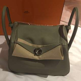 Hermes lindy 26 brand new! Rare color: Sauge