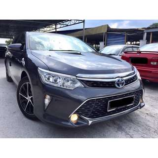 2016 Toyota Camry 2.5 (A) HYBRID UNDER WARRANTY