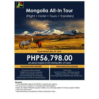 Mongolia All-In Tour