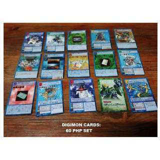 Digimon Standard Size Cards