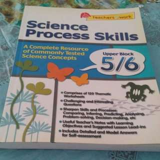 Science Process Skills Primary 5, 6