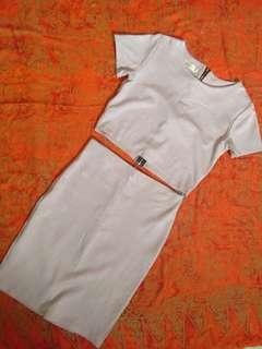 Top and skirt dress
