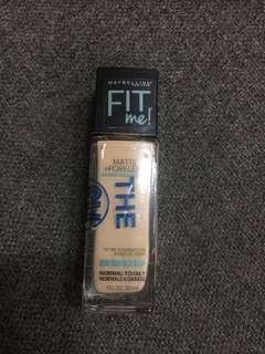 Maybellene foundation fit me