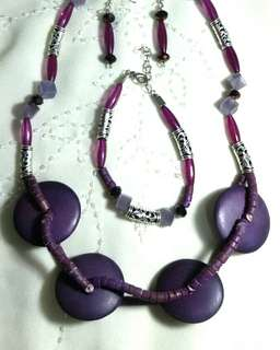 Beads Necklace Jewelry ❤ Hannah Handcrafted