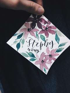 Place Card | Calligraphy