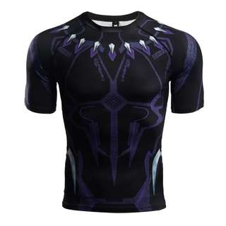 Black Panther - Avengers Infinity War Compression Shirt SS