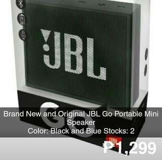 Original JBL Go Mini Portable Speaker